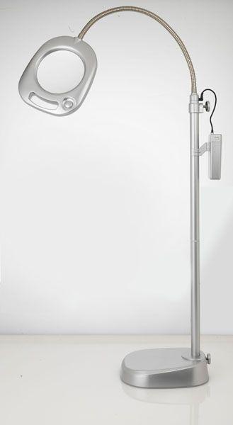 LED Vloerlamp Met Loep