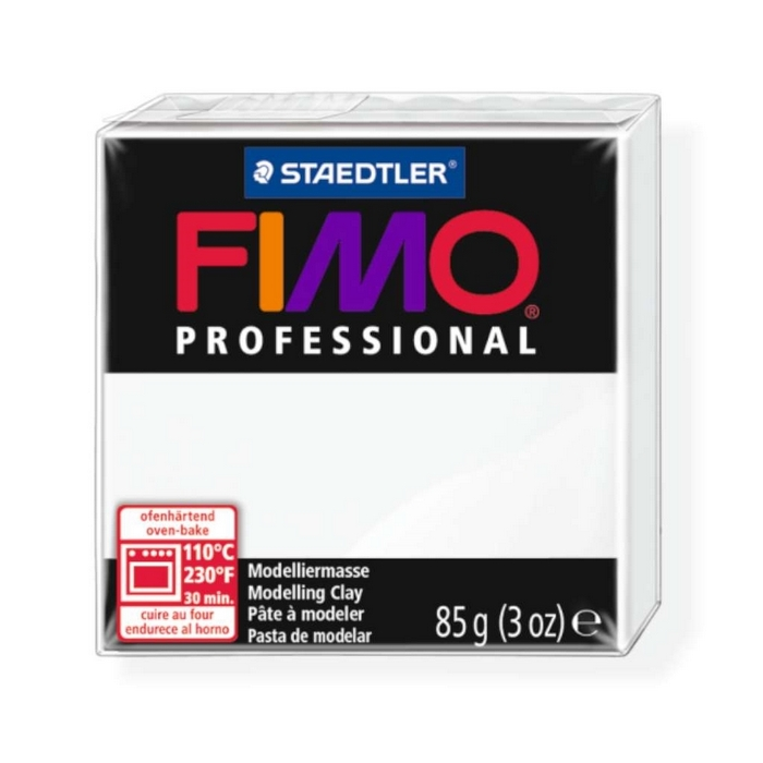 Fimo Professional 85g wit