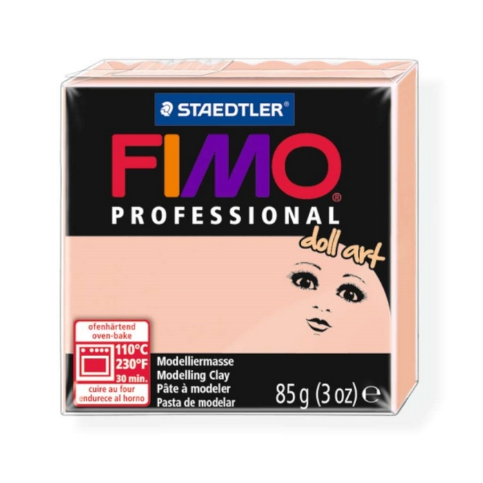 Fimo Professional Doll art 85g doorzichtig rose