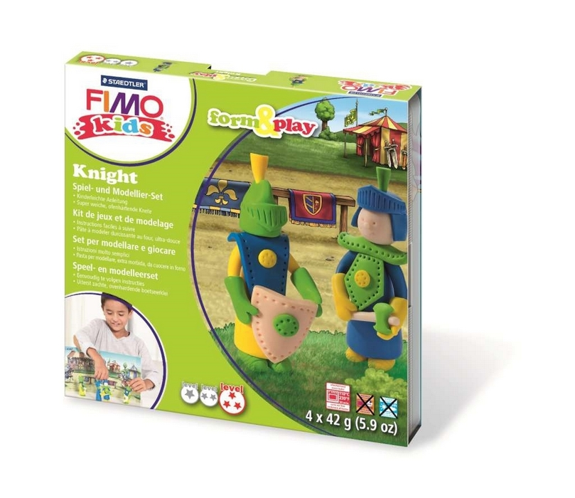 "Fimo kids Form&Play """"Ridder"""