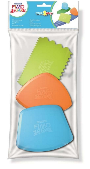 "Fimo kids Work&Play """"Cutting tools"""""