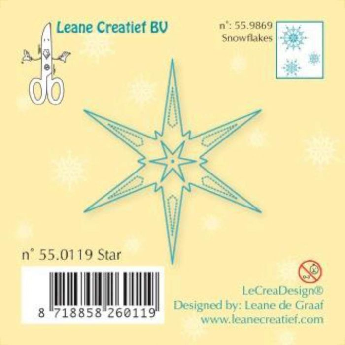 LeCrea - Clear stamp Star