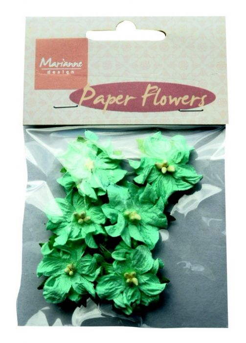 Marianne D Decoration Paper Flowers -  Blue