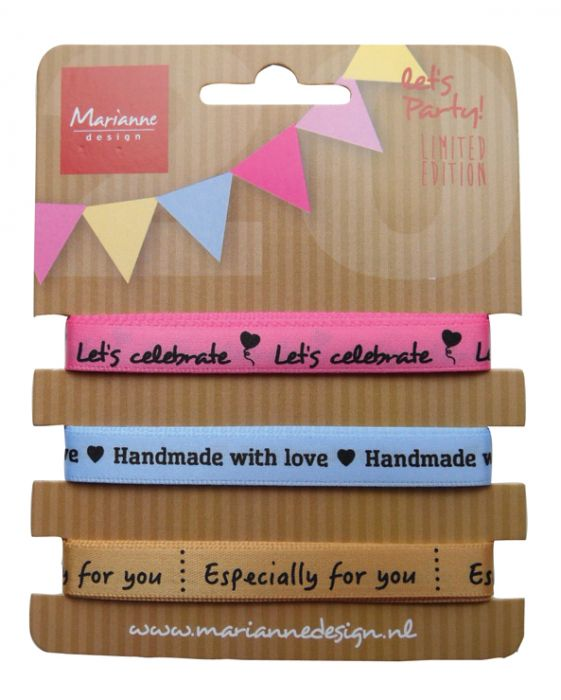 Marianne D Party Product Ribbons Set