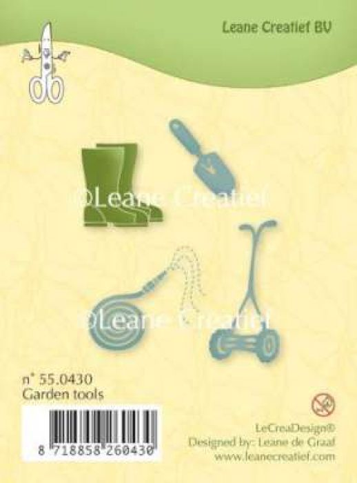 LeCrea - Clear stamp Garden tools