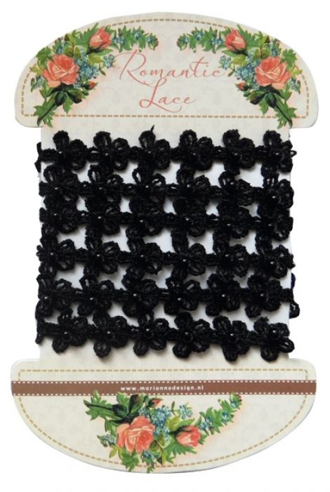 Marianne D Decoration Romantic lace - Black