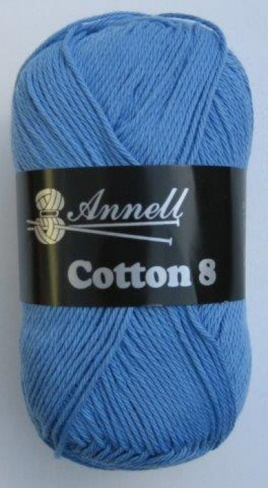 Annell Cotton 8 blauwpaars 55