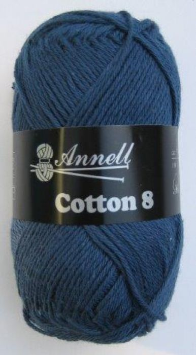 Annell Cotton 8 donker blauw 37