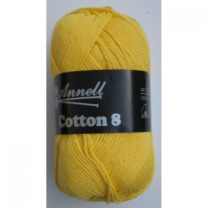Annell Cotton 8 donkergeel 05