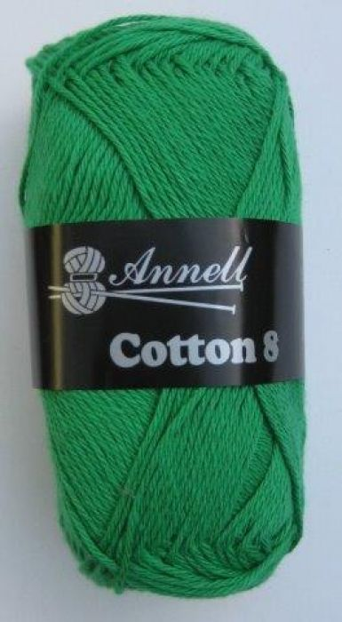 Annell Cotton 8 donkergroen 48