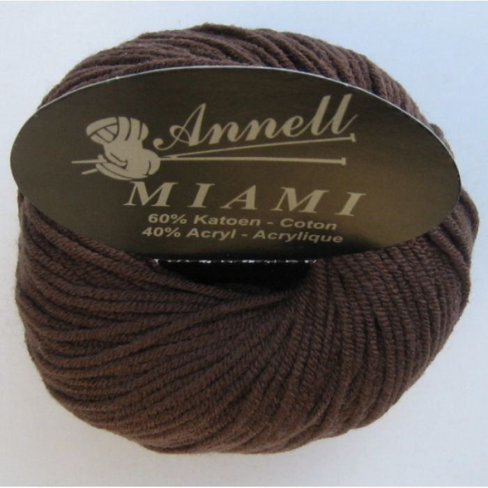 Annell Miami 8901 donkerbruin