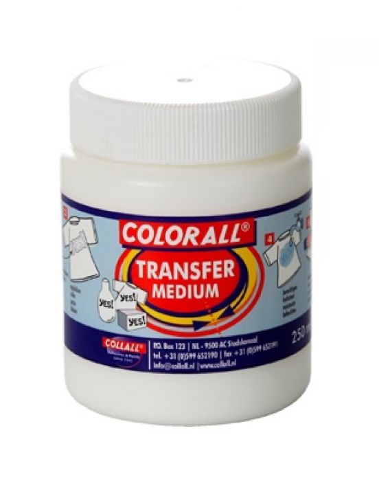 Collall Transfer Medium melkwit 250ml