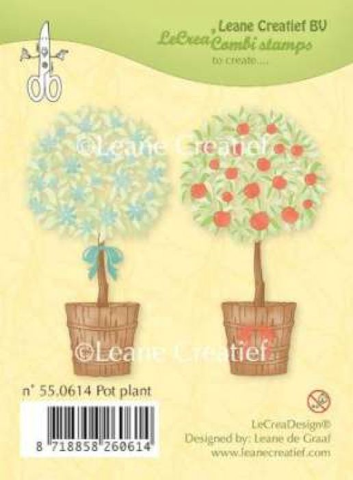LeCrea - Clear stamp Pot plant