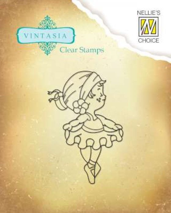 Nellies Choice Clearstempel - Vintasia Cute Embition