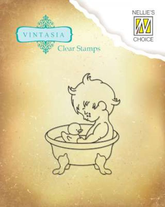 Nellies Choice Clearstempel - Vintasia Sweet Home