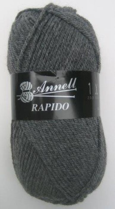 Annell Rapido 3357 donkergrijs