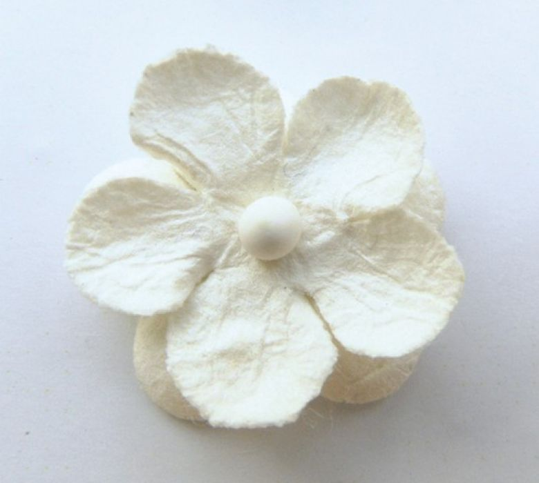 Marianne D Decoration Paper flowers - white
