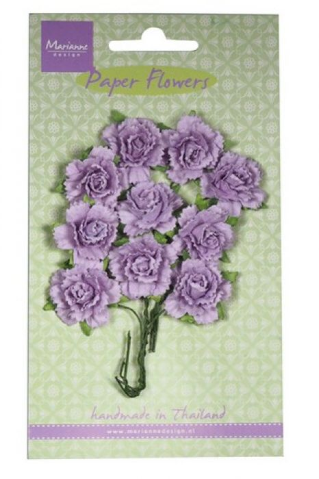 Marianne D Decoration Carnations - light lavender RB2260