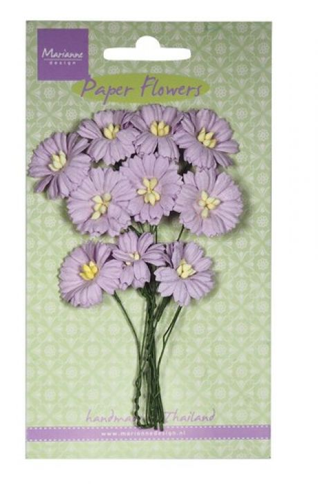 Marianne D Decoration Daisies - light lavender