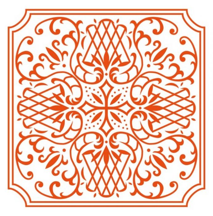 Marianne D Embossing folder Anja`s square DF3426