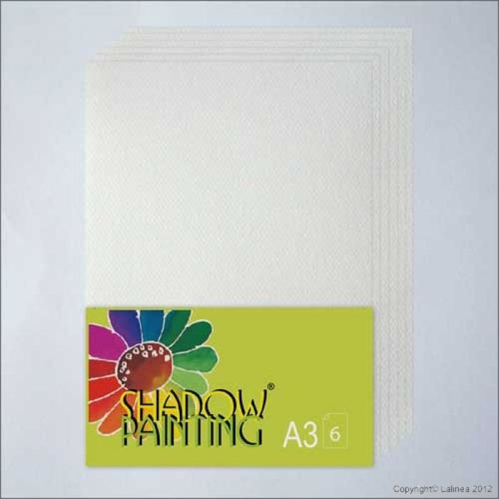 Shadowpainting Shadow papier - A3 6 vel SP0103