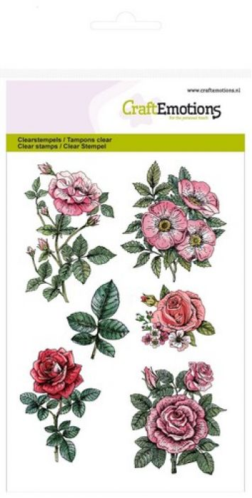 clearstamps A6 - Botanical Rose Garden 2
