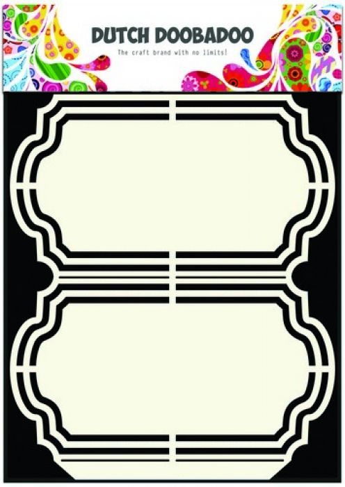 Dutch Doobadoo Dutch Shape Art frames Ornament A5      470.713.137