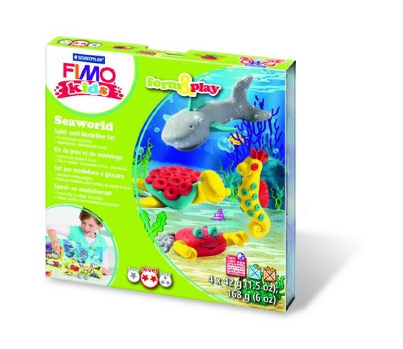 Fimo kids Form&Play `Zeeleven` 8034 13 LY