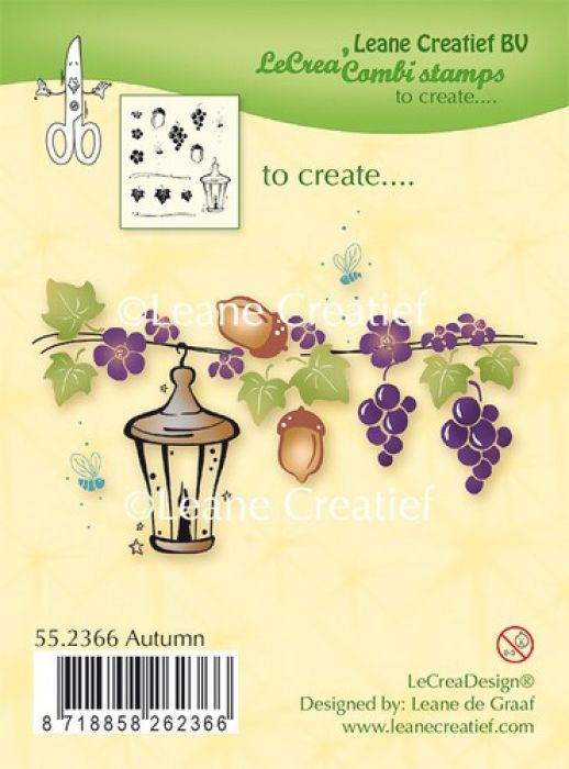 LeCrea - Clear stamp Autumn 55.2366