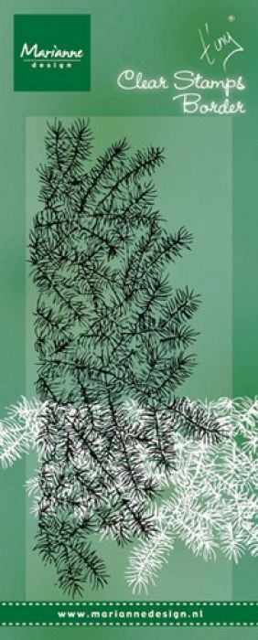 Marianne D Stempel Tiny`s border - pine tree branches TC0842