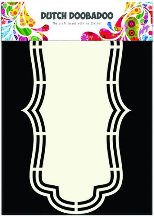 Dutch Doobadoo Dutch Shape Art frames etiket A5 470.713.141