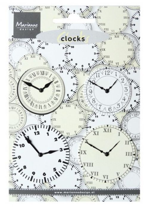 Marianne D Decoration Clocks JU0956 10x14,5cm