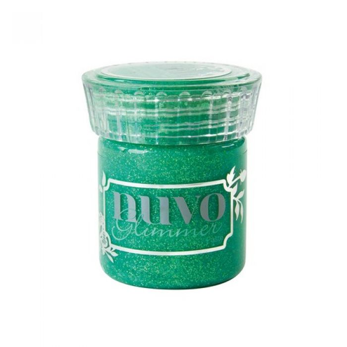Nuvo glimmer paste - peridot green 958N