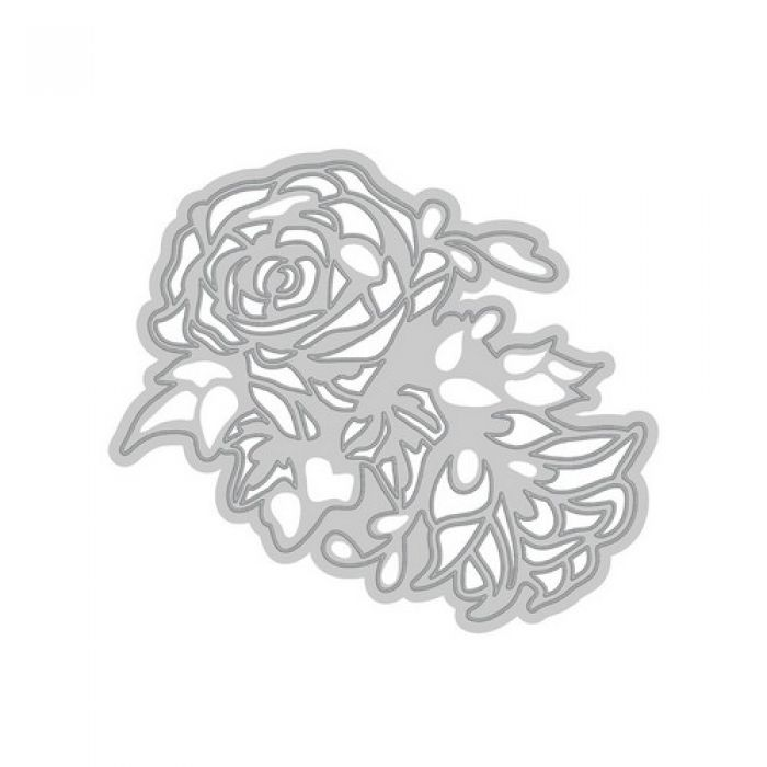 Tonic Studios Die - Rococo bunched roses 077E
