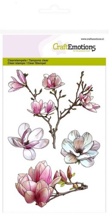 clearstamps A6 - magnolia Spring Time