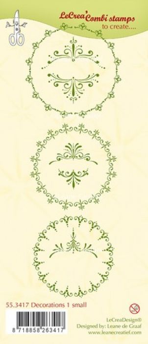 LeCrea - Clear stamp Decorations 1 small 55.3417