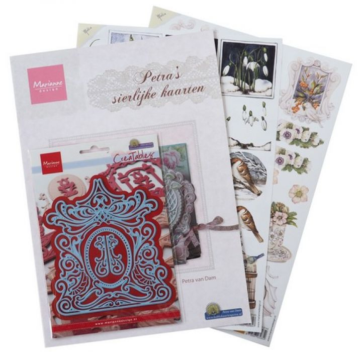 Marianne D Assortiment set Elegant cards 1 PA4042