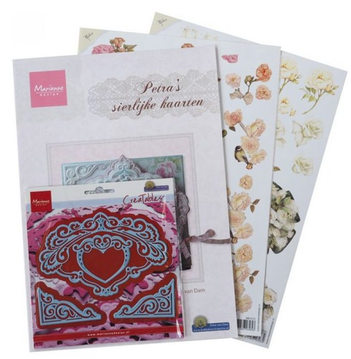 Marianne D Assortiment set Elegant cards 3 PA4044
