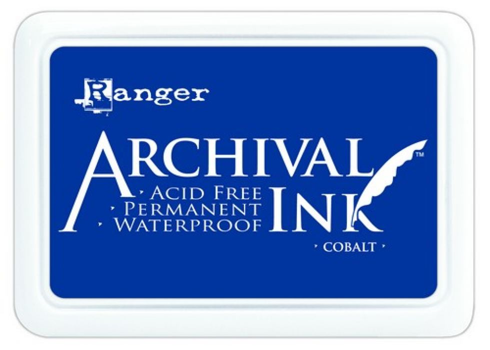 Ranger Archival Ink pad - cobalt AIP31444