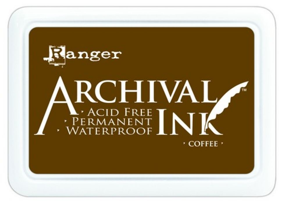 Ranger Archival Ink pad - coffee AIP31451