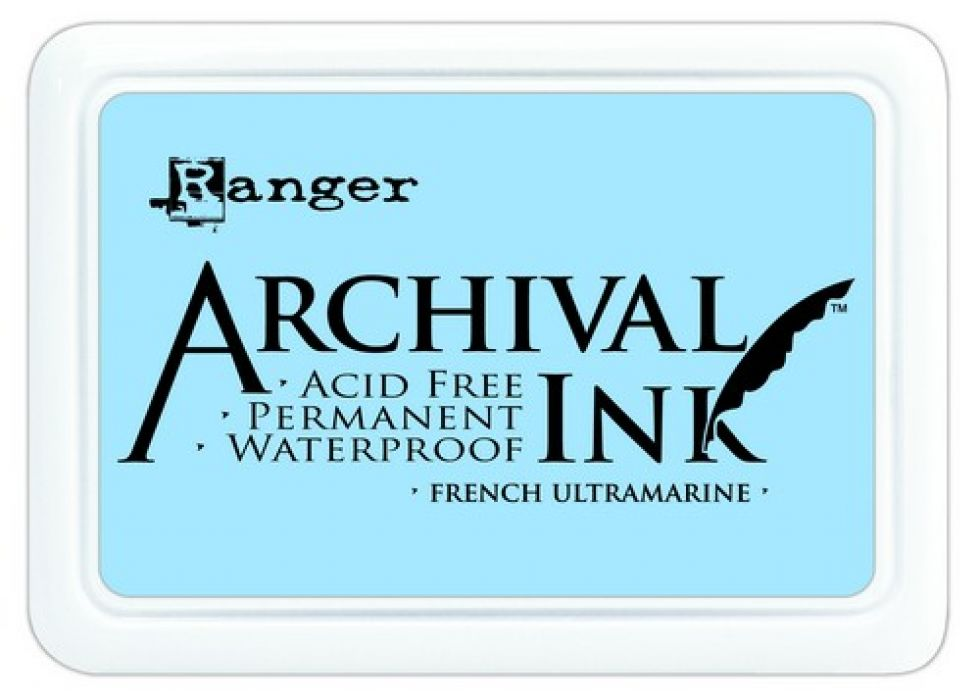 Ranger Archival Ink pad - french ultramarine AIP30607