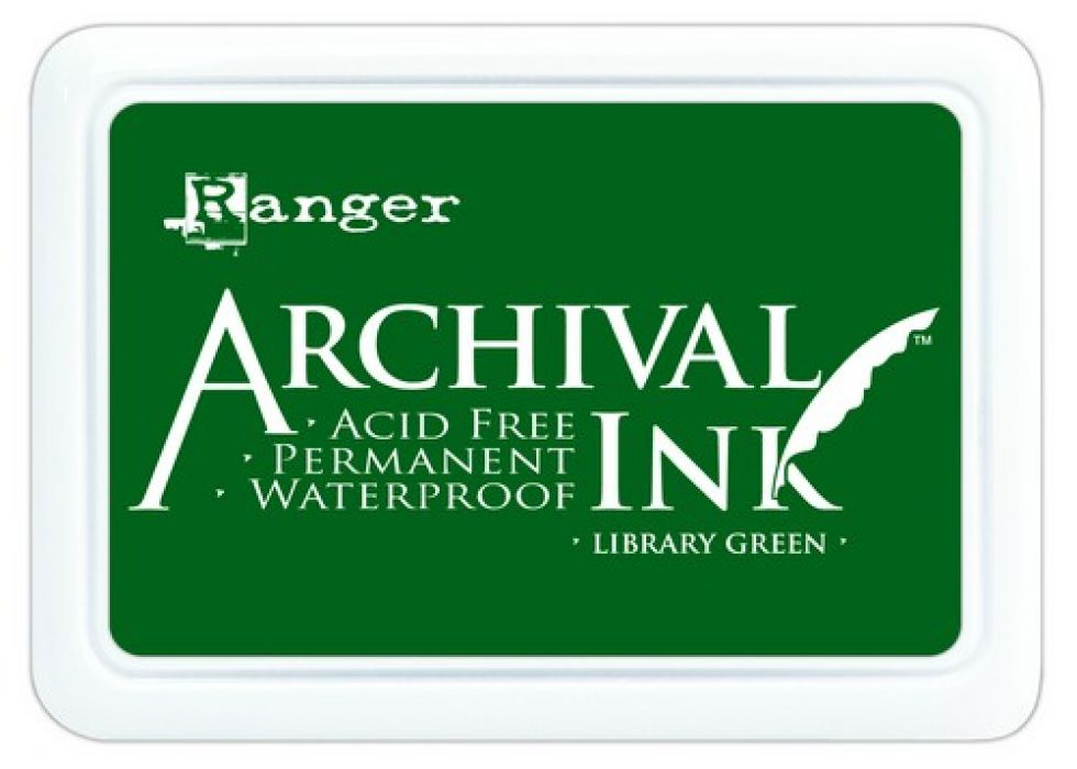 Ranger Archival Ink pad - library green AIP31475