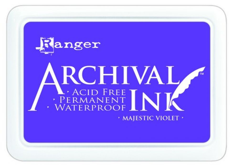Ranger Archival Ink pad - majestic violet AIP52494