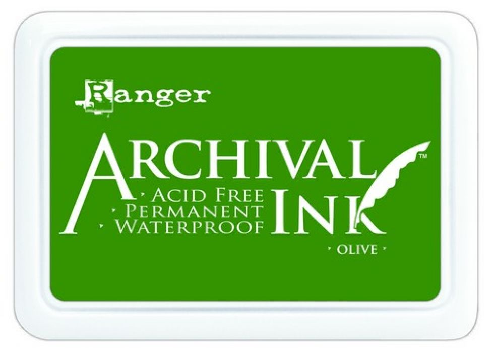 Ranger Archival Ink pad - olive AIP31482