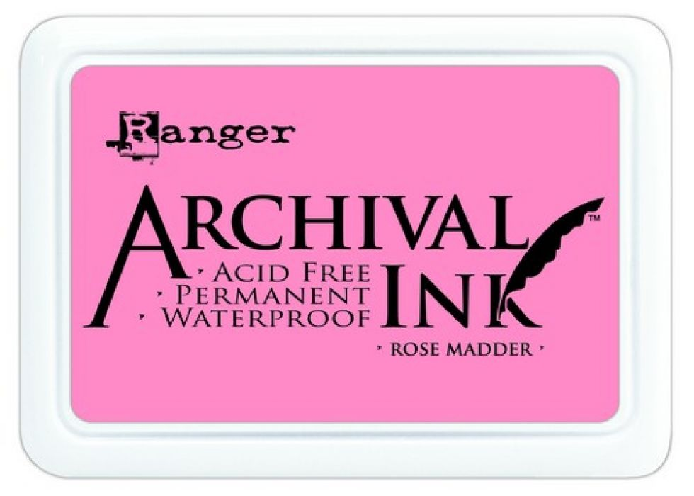 Ranger Archival Ink pad - rose madder AIP30638