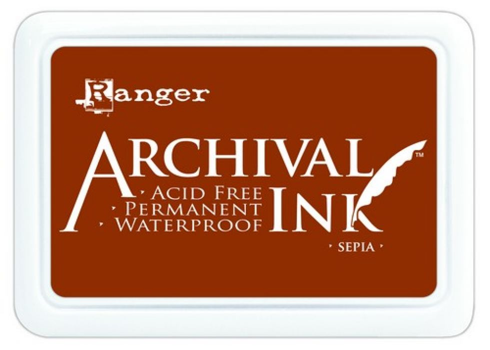 Ranger Archival Ink pad - sepia AIP31505