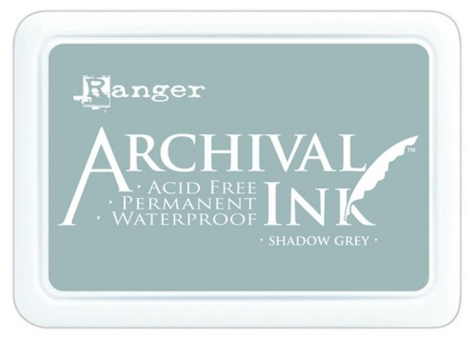 Ranger Archival Ink pad - shadow grey AIP52517