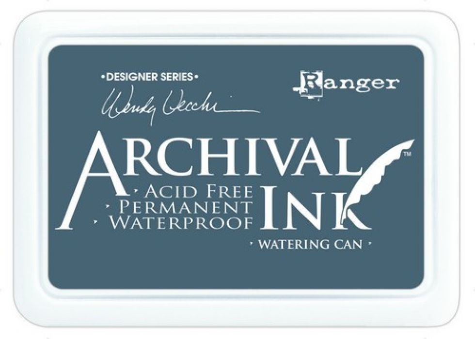 Ranger Archival Ink pad - watering can AID39006 Wendy Vecchi