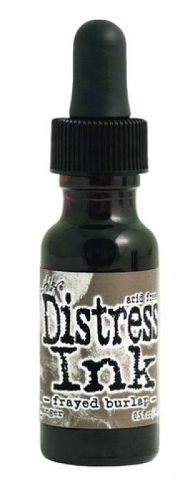 Ranger Distress Re- Inker 14 ml - frayed burlap TIM21582 Tim Holtz
