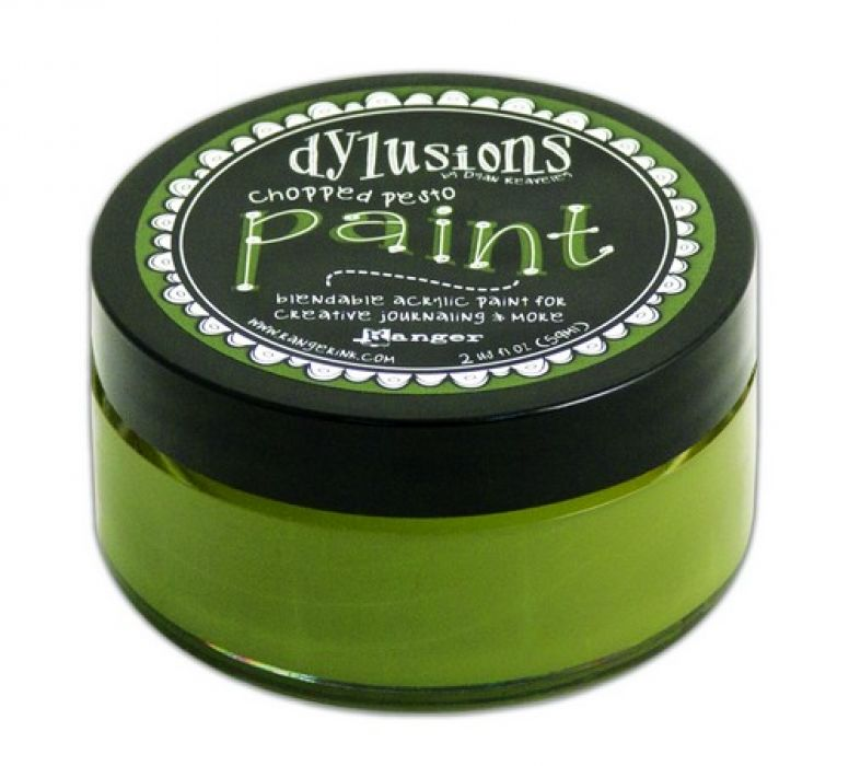 Ranger Dylusions Paint 59 ml - chopped pesto DYP52715